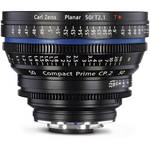 Zeiss Compact Prime CP.2 50 / T2.1 Cine Lens with Interchangeable E Mount