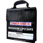 "Common Sense RC Magnum LiPo Safe Charging/Storage Bag (7.00 x 6.25 x 1.75"")"