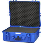 HPRC 2700F Hard Case with Cubed Foam Interior (Blue)