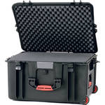 HPRC 2730WFB Wheeled Hard Case with Cubed Foam (Black)
