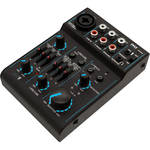Pyle Pro Bluetooth-Enabled 3-Channel DJ Mixer / Audio Interface