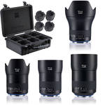 Zeiss Milvus ZE 4-Lens Bundle for Canon EF