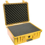 Pelican 1550 Case with 4-Piece Foam Set (Yellow)