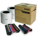 "HiTi 4 x 6"" Ribbon & Paper Case with Reusable Ribbon Holder for P510 Series Photo Printers (2 Rolls)"