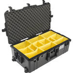Pelican 1615AirWD Wheeled Check-In Case (Black, with Dividers)