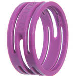 Neutrik Color Coding Ring for etherCon Connectors (100-Pack, Violet)