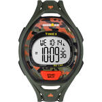 Timex IRONMAN Sleek 50 Full-Size Sport Watch (Green/Orange Camo)