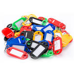 Barska 50 Key Tags (Assorted Colors)