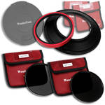 FotodioX WonderPana 145 Core Unit Kit for Nikon 14mm Lens with 145mm Solid Neutral Density 1.2 and 145mm Solid Neutral Density 1.5 Filters