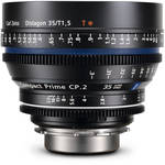 Zeiss Compact Prime CP.2 35mm/T1.5 Super Speed PL Mount with Imperial Markings