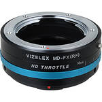 FotodioX Vizelex ND Throttle Minolta SR (MD/MC) to Fujifilm X-Series Mirrorless Camera Lens Mount Adapter with Built-in Variable ND Filter