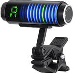 Korg Sledgehammer Custom 100 Clip-On Guitar & Bass Tuner (Black)