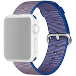 Apple Watch Woven Nylon Band (42mm, Royal Blue)