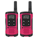 Motorola T107 Two-Way Radio (Pink, 2-Pack)
