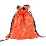 Capturing Couture Orange Mirrorless Camera Protective Tote Bag (Orange)