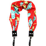 Capturing Couture Azalea Scarf Camera Strap (Red)