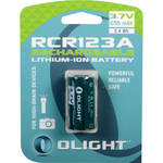 Olight RCR123A Lithium-Ion Rechargeable Battery (3.7V, 650mAh)
