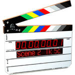 Timecode Systems Denecke Intelligent Clapper Slate with Integrated Wireless Technology