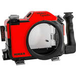 Nimar Water Sports Housing for Canon EOS 5D Mark III, 5DS, or 5DS R (Red/Clear)