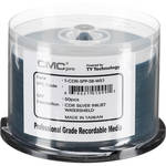 CMC Pro 700MB CD-R WaterShield Silver Printable 48x Discs (Pack of 50)