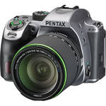 Pentax K-70 DSLR Camera with 18-135mm Lens (Silver)