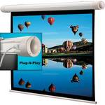 "Draper 136085SB Salara/Plug and Play 31.8 x 56.5"" Motorized Screen (120V)"