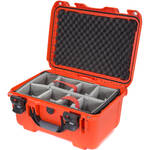 Nanuk 918 Case with Padded Dividers (Orange)
