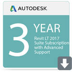 Autodesk AutoCAD Revit LT Suite 2017 with Advanced Support (3-Year Subscription, Download)