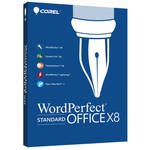 Corel WordPerfect Office X8 Standard Edition Upgrade (Download)