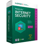 Kaspersky Internet Security 2016 (Boxed, 3-Devices, 1-Year Protection)