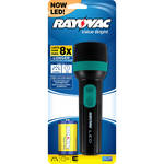 RAYOVAC VB1DLED-BA Value Bright OPP 1D LED Flashlight