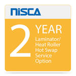 Nisca Printers Laminator / Heat Roller Hot Swap Service Option for Year 2
