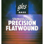 GHS Medium Scale Precision Flatwound Stainless Steel Bass String (Single String, .045)