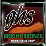 GHS Bright Bronze Acoustic Guitar String (Single String, .018)