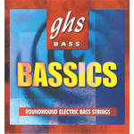 GHS BAS44 Bassics roundwound Electric Bass String (Single String, Regular Long Scale, .044)
