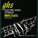 "GHS 38"" Scale Brite Flats Electric Bass String (Single String, .129)"