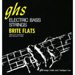 GHS Short Scale Brite Flats Electric Bass String (Single String, .108)
