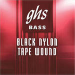 GHS Black Nylon Medium Tapewound Bass String (Single String, .105)