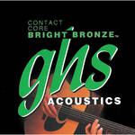 GHS Contact Core Bright Bronze Acoustic Guitar String (Single String, .030)