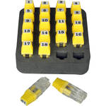 Platinum Tools ID Network Remote Set #1-20 for Net Chaser Ethernet Speed Certifier