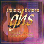 GHS IB42 Infinity Bronze Acoustic Guitar String (Single, .042)