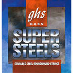 GHS STB121 Super Steels Roundwound Electric Bass String (Single, Long Scale, .121)