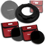 FotodioX WonderPana 145 Core Unit Kit for Sigma 8-16mm Lens with 145mm Solid Neutral Density 1.2 and 145mm Solid Neutral Density 1.5 Filters