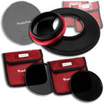FotodioX WonderPana 145 Core Unit Kit for Panasonic 7-14mm Lens with 145mm Solid Neutral Density 1.2 and 145mm Solid Neutral Density 1.5 Filters