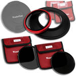 FotodioX WonderPana 145 Core Unit Kit for Sigma 14mm Lens with 145mm Solid Neutral Density 1.2 and 145mm Solid Neutral Density 1.5 Filters
