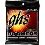 GHS GB8 1/2 Boomers Roundwound Ultra Light+ Electric Guitar Strings (6-String Set, 8.5 - 40)