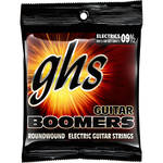 GHS GB9 1/2 Boomers Roundwound Extra Light+ Electric Guitar Strings (6-String Set, 9.5 - 44)