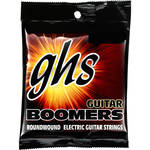 GHS DYXL Extra Light Boomers Wound 3rd Roundwound Electric Guitar Strings (6-String Set, 10 - 46)