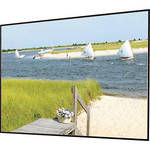 "Draper 252086SB Clarion 72 x 96"" Fixed Frame Screen with Veltex"