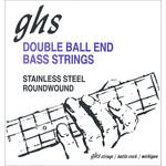 GHS DBB63 Double Ball End Roundwound Electric Bass String (Single, .063)